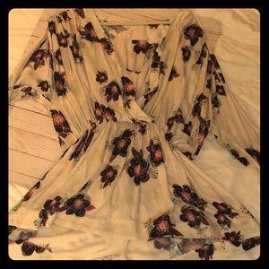 Free People wrap tunic/mini dress